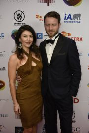 Jewel Staite at UBCP/ACTRA Awards Gala at Vancouver Playhouse 2018/12/08 2