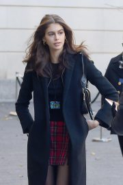 Kaia Gerber Arrives at Chanel Metiers D'Art Show Pre-fall 2019 in New York 2018/12/04 4