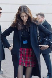Kaia Gerber Arrives at Chanel Metiers D'Art Show Pre-fall 2019 in New York 2018/12/04 6