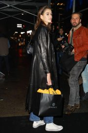 Kaia Gerber Arrives at Versace Fashion Show in New York 2018/12/02 1