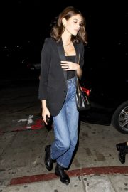 Kaia Gerber at Dave Chappelle and John Mayer's Shat Peppermint Club in West Hollywood 2018/12/27 1