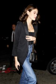 Kaia Gerber at Dave Chappelle and John Mayer's Shat Peppermint Club in West Hollywood 2018/12/27 3