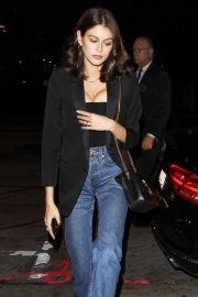 Kaia Gerber at Dave Chappelle and John Mayer's Shat Peppermint Club in West Hollywood 2018/12/27 6
