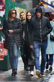 Kaia Gerber, Cindy Crawford and Rande Gerber Out in New York 2018/12/02 6