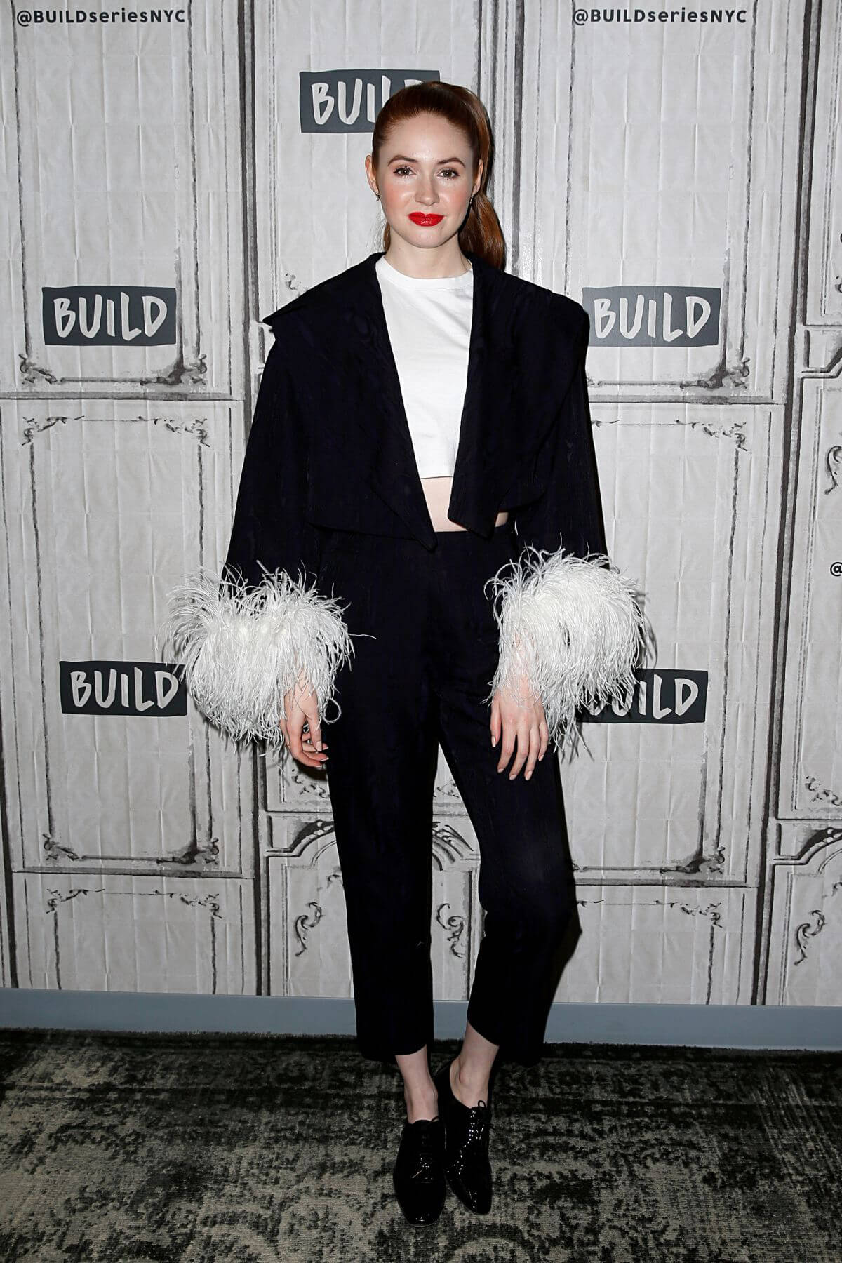 Karen Gillan at Build Series in New York 2018/12/14 1