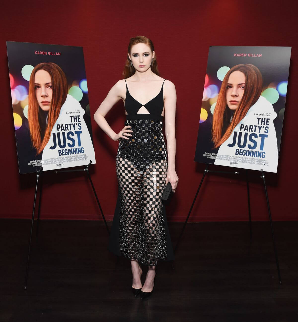 Karen Gillan at The Party's Just Beginning Screening in Santa Monica 2018/12/07 1