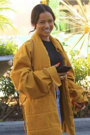 Karrueche Tran in Ripped Jeans Out Shopping in Beverly Hills 2018/12/28 9