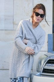 Kate Beckinsale Has a Vehicle Accident in Los Angeles 2018/11/30 2