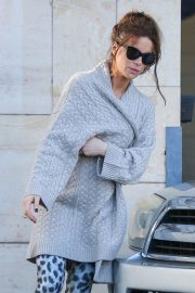 Kate Beckinsale Has a Vehicle Accident in Los Angeles 2018/11/30 8