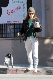 Kate Mara and Jamie Bell Out with Their Dogs in Los Angeles 2018/12/15 7