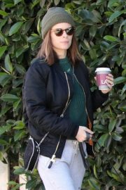 Kate Mara and Jamie Bell Out with Their Dogs in Los Angeles 2018/12/15 10