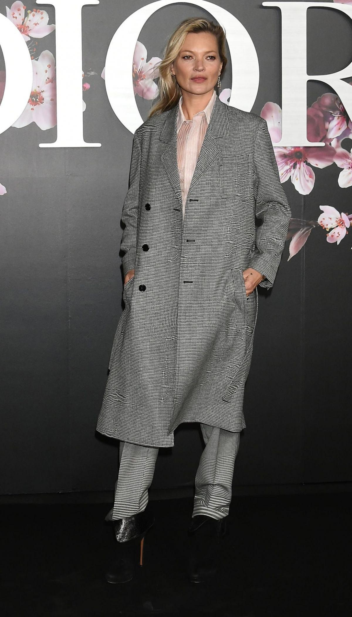 Kate Moss at Dior Pre-Fall 2019 Men's Collection Photocall in Tokyo 2018/11/30 1