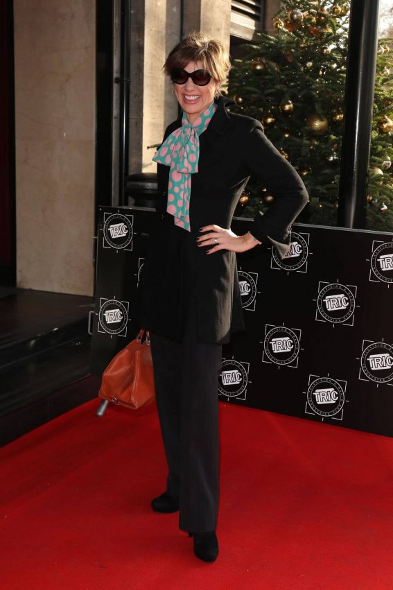 Kate Silverton at TRIC Christmas Lunch in London 2018/12/11 1