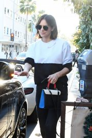 Katharine McPhee and David Foster Il Pastaio Restaurant in Beverly Hills 2018/12/15 1