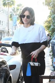 Katharine McPhee and David Foster Il Pastaio Restaurant in Beverly Hills 2018/12/15 2