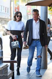 Katharine McPhee and David Foster Il Pastaio Restaurant in Beverly Hills 2018/12/15 4