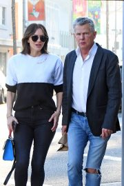 Katharine McPhee and David Foster Il Pastaio Restaurant in Beverly Hills 2018/12/15 6