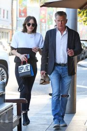 Katharine McPhee and David Foster Il Pastaio Restaurant in Beverly Hills 2018/12/15 8