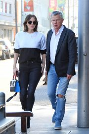Katharine McPhee and David Foster Il Pastaio Restaurant in Beverly Hills 2018/12/15 9