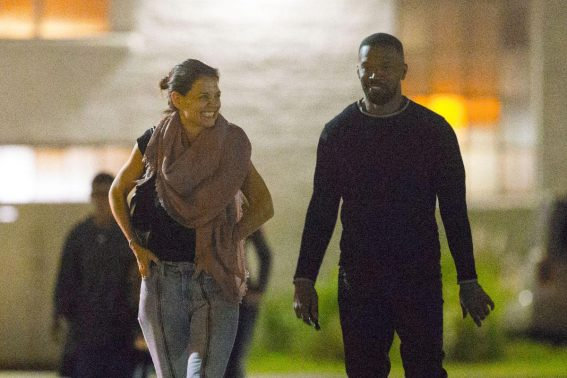 Katie Holmes and Jamie Foxx Night Out in New Orleans 2018/12/02 1