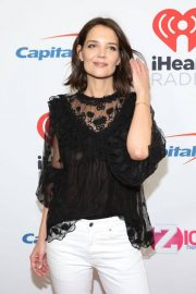 Katie Holmes at Z100's Jingle Ball in New York 2018/12/07 2