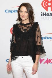 Katie Holmes at Z100's Jingle Ball in New York 2018/12/07 7