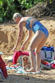 Katy Perry in Swimsuit at a Beach in Hawaii 2018/12/27 7