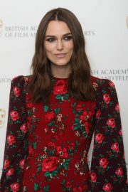Keira Knightley at A Life in Pictures Photocall at Bafta in London 2018/12/17 1