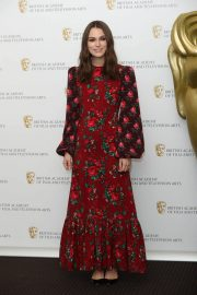 Keira Knightley at A Life in Pictures Photocall at Bafta in London 2018/12/17 5