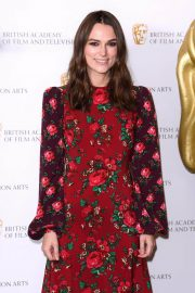 Keira Knightley at A Life in Pictures Photocall at Bafta in London 2018/12/17 7
