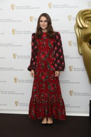 Keira Knightley at A Life in Pictures Photocall at Bafta in London 2018/12/17 9