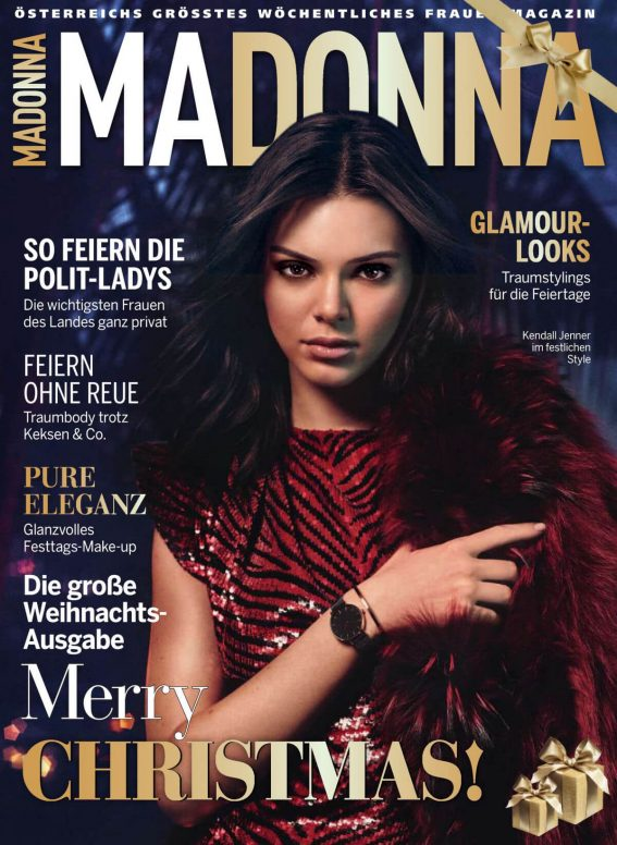 Kendall Jenner on the Cover of Madonna Magazine, December 2018 1