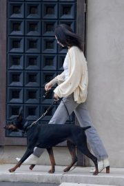 Kendall Jenner Out with Her Dog in Los Angeles 2018/12/16 5