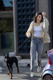 Kendall Jenner Out with Her Dog in Los Angeles 2018/12/16 13