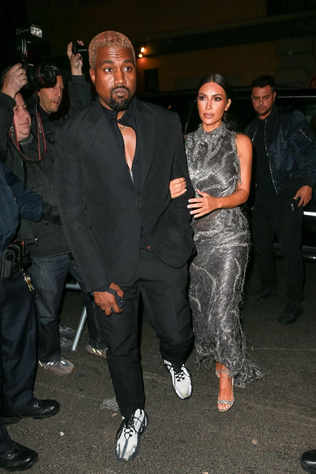 Kim Kardashian and Kanye West at Cher Musical in New York 2018/12/03 1