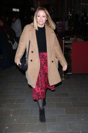 Kimberley Walsh Arrives at Gaby Roslin Special Christmas Show in London 2018/12/09 1