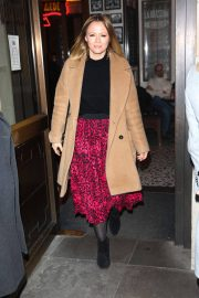 Kimberley Walsh Arrives at Gaby Roslin Special Christmas Show in London 2018/12/09 8