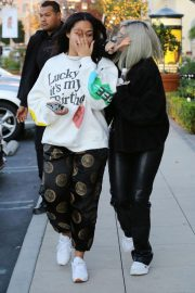 Kylie Jenner and Jordyn Woods Out in Calabasas 2018/12/01 2