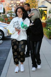 Kylie Jenner and Jordyn Woods Out in Calabasas 2018/12/01 3