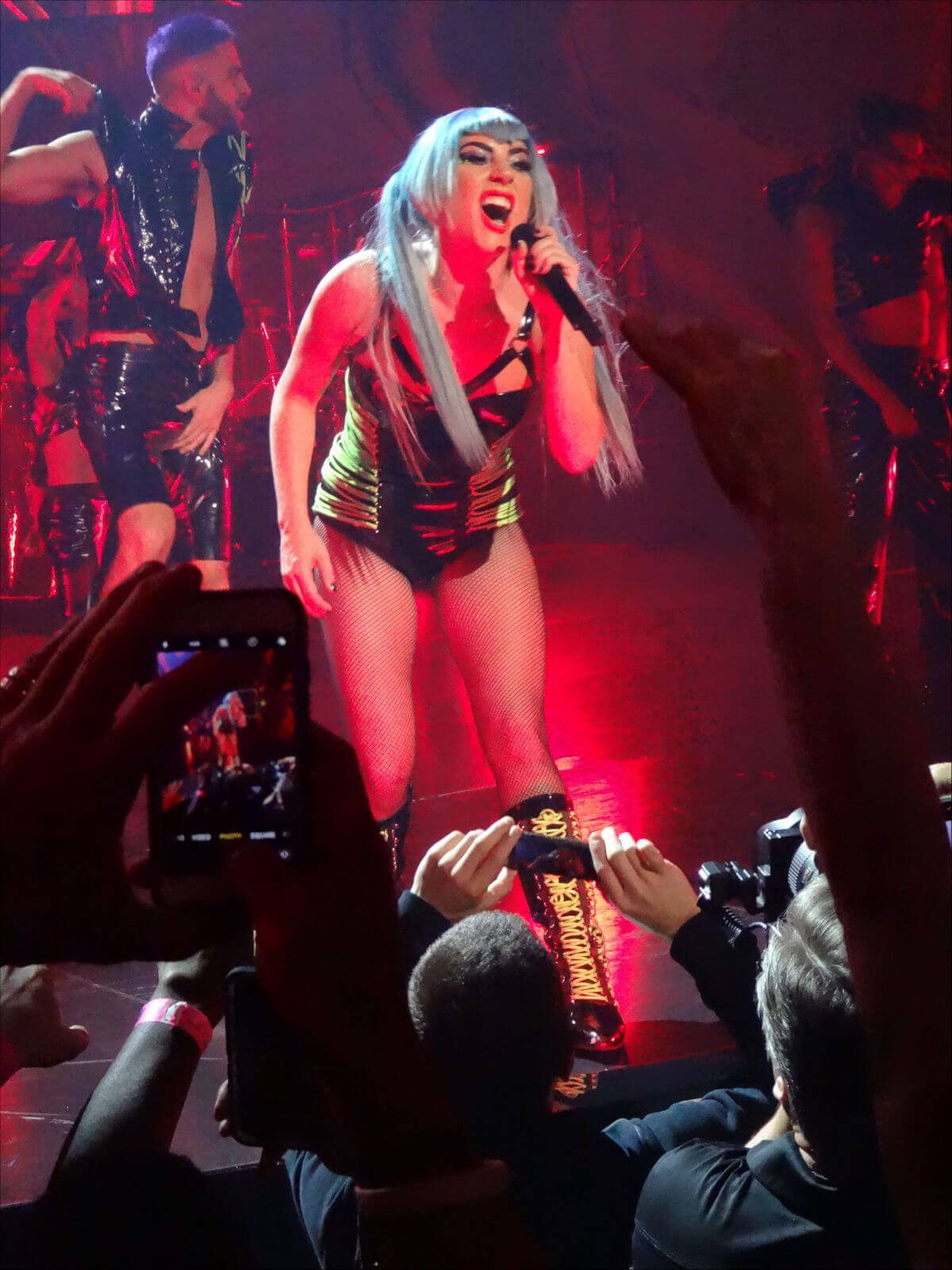 Lady Gaga Performs at Lady Gaga: Enigma in Las Vegas 2018/12/28 1