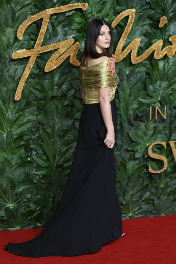 Lana Del Rey at British Fashion Awards in London 2018/12/10 1