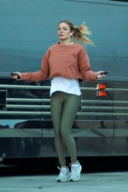 LeAnn Rimes Working Out Before Her Christmas Show in Palm Desert 2018/12/15 9
