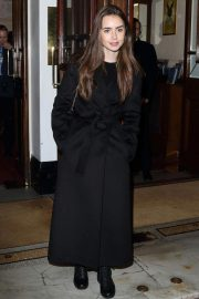 Lily Collins at Vaudeville Theatre in London 2018/12/04 3