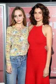Lily-Rose Depp and Laetitia Casta at L'Homme Fidele Premiere in Paris 2018/12/17 10