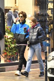 Lily-Rose Depp and Timothee Chalamet Out in Paris 2018/12/22 4