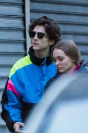 Lily-Rose Depp and Timothee Chalamet Out in Paris 2018/12/22 5