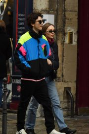 Lily-Rose Depp and Timothee Chalamet Out in Paris 2018/12/22 6