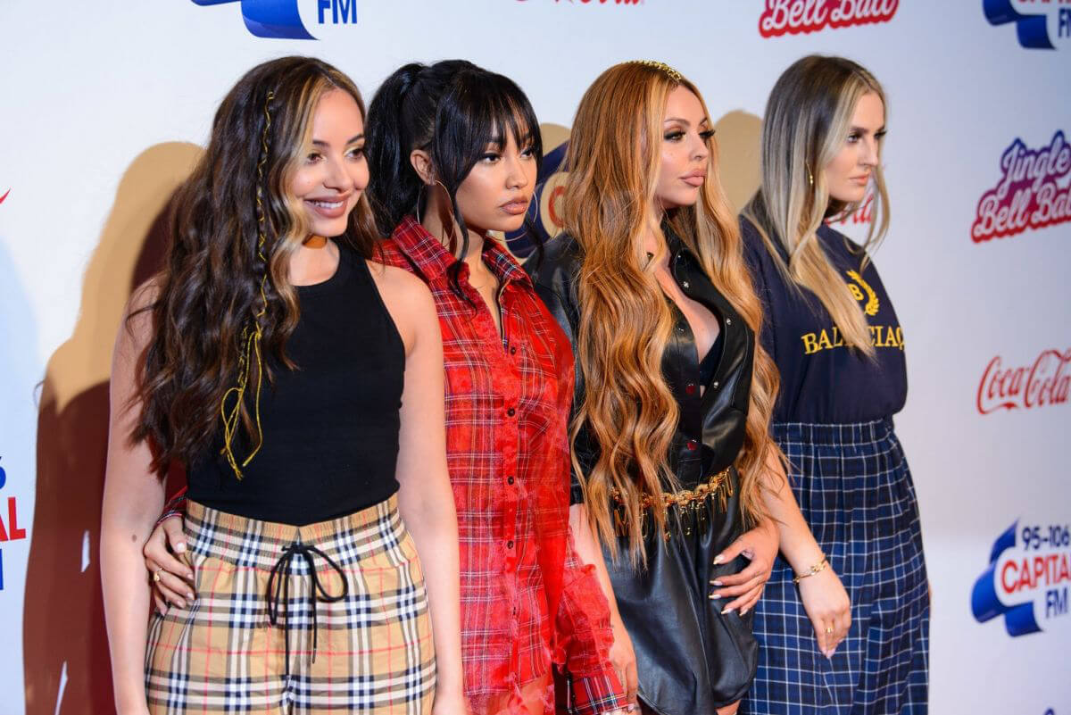 Little Mix at Capital FM Jingle Bell Ball in London 2018/12/09 1
