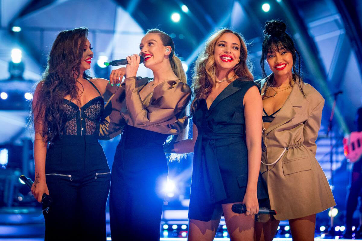 Little Mix Performs at Strictly Come Dancing in London 2018/12/09 1
