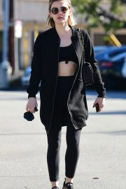 Lucy Hale Heading to a Gym in Los Angeles 2018/12/02 4